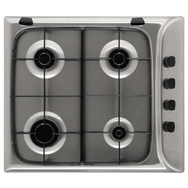 Product image for Hotpoint G640SK 58cm Gas Hob - Black