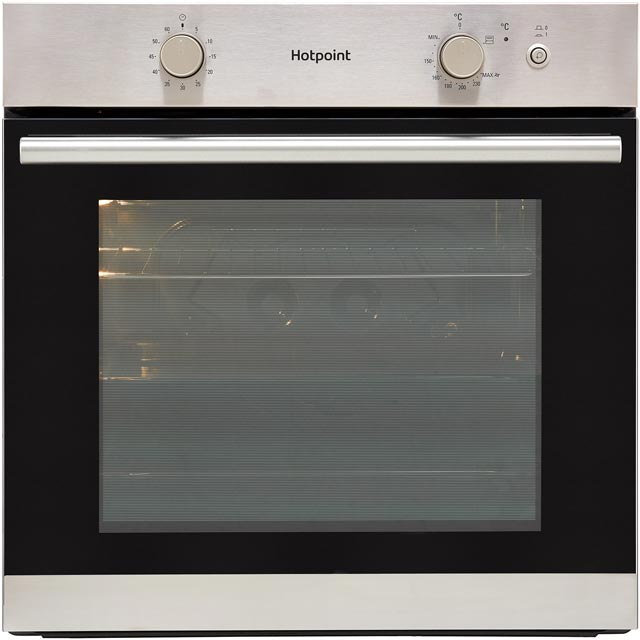 Hotpoint GA2124CIX Built In Gas Single Oven - Stainless Steel - A+ Rated - GA2124CIX_SS - 1