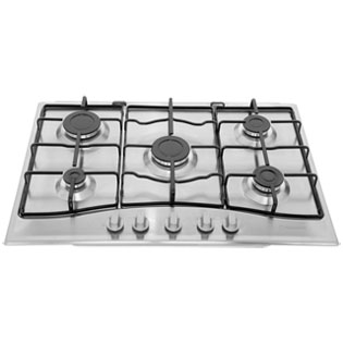 Product image for Hotpoint GC750X 75cm Gas Hob - Stainless Steel