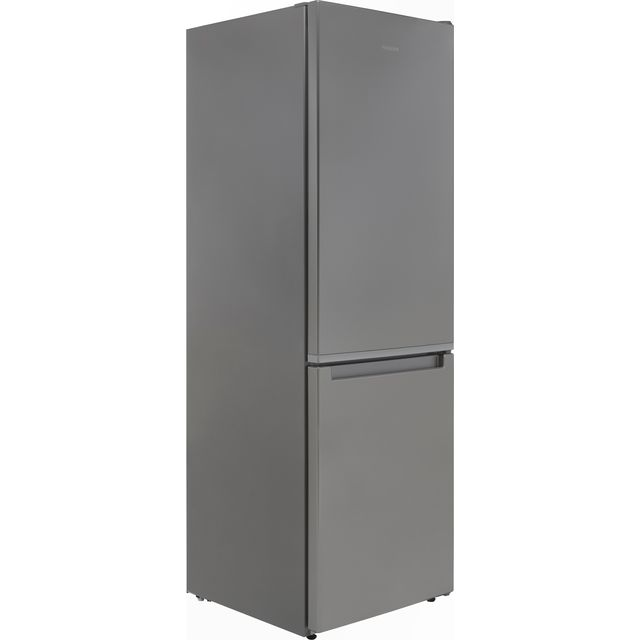 Hotpoint H1NT811EOX1 60/40 Fridge Freezer - Stainless Steel Effect - F Rated