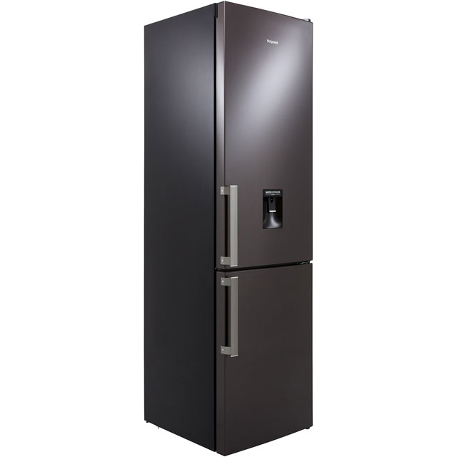Hotpoint Day1 H7T911AKSHAQUA 70/30 Frost Free Fridge Freezer - Black / Stainless Steel - A+ Rated - H7T911AKSHAQUA_BSS - 1