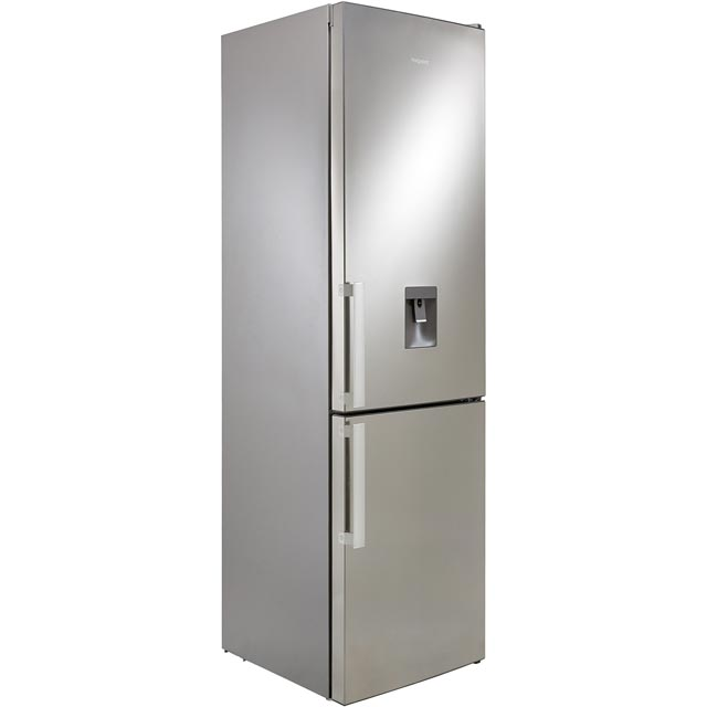 Hotpoint Day1 H7T911AMXHAQUA 70/30 Frost Free Fridge Freezer - Mirror Finish - A+ Rated Best Price, Cheapest Prices