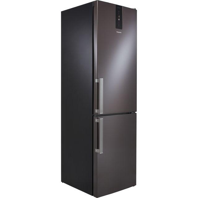 Hotpoint H7T911TKSH1 70/30 Frost Free Fridge Freezer - Black Steel - F Rated