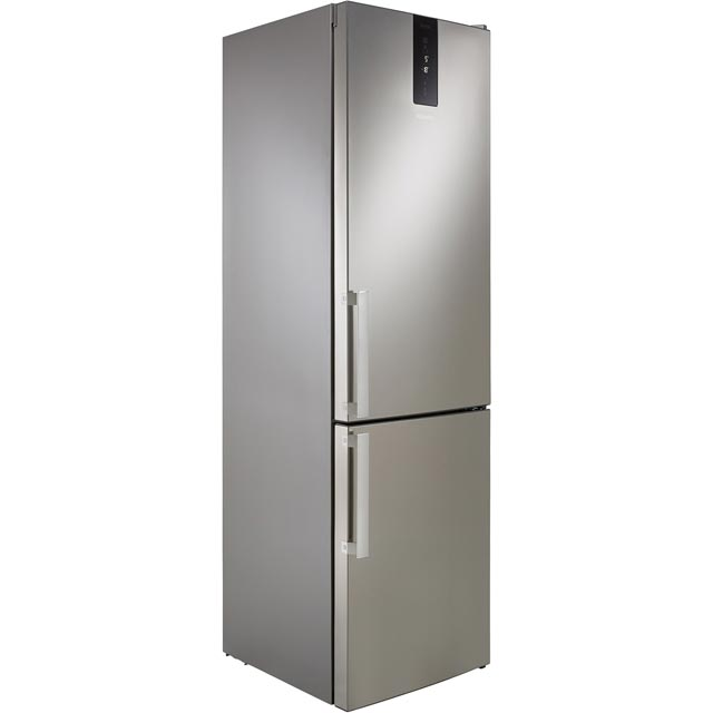 Hotpoint Day1 H7T911TMXH 70/30 Frost Free Fridge Freezer - Mirror Finish - A+ Rated Best Price, Cheapest Prices