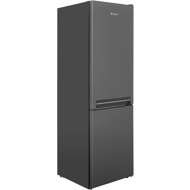 Hotpoint Day 1 H8A1ESB.1 60/40 Fridge Freezer - Gun Metal - A+ Rated Best Price, Cheapest Prices