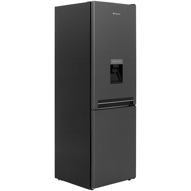 Hotpoint Day1 H8A1ESBWTD.1 60/40 Fridge Freezer - Graphite - A+ Rated - H8A1ESBWTD.1_GR - 1