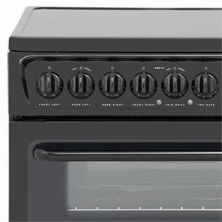 Hotpoint Newstyle HAE60PS Electric Cooker - White - HAE60PS_WH - 4