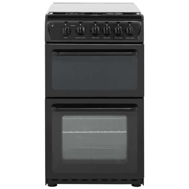 Hotpoint HAGL51K Gas Cooker - Black