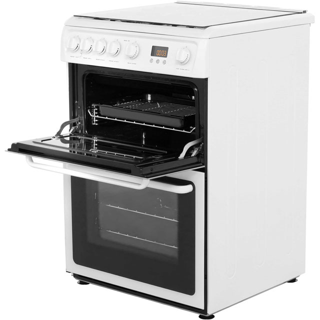 Hotpoint HAGL60P Gas Cooker - White - HAGL60P_WH - 3