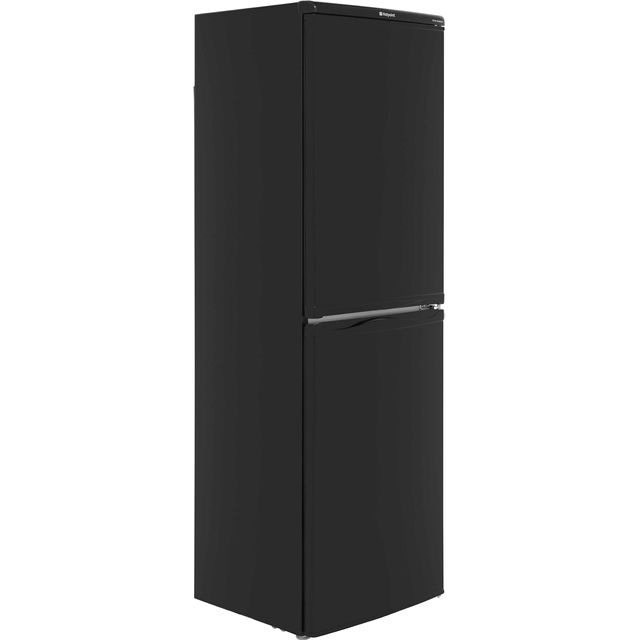 Hotpoint First Edition HBD5517B 50/50 Fridge Freezer - Black - A+ Rated Best Price, Cheapest Prices