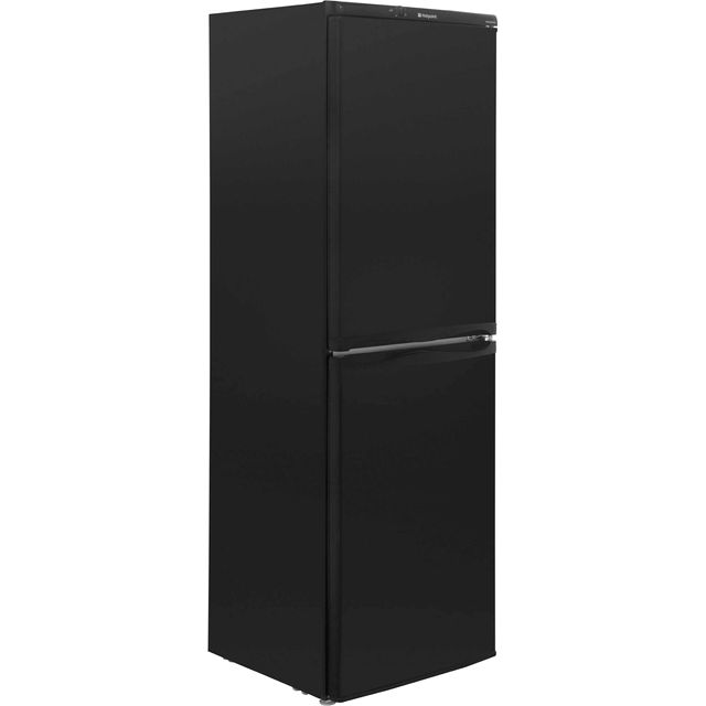 Hotpoint Aquarius HBNF5517B 50/50 Frost Free Fridge Freezer - Black - A+ Rated Best Price, Cheapest Prices