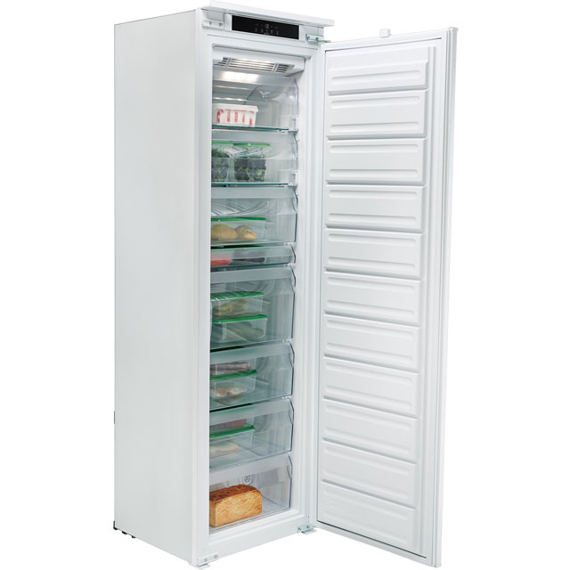 Hotpoint Day1 Ultima HF1801EFAA.1 Integrated Frost Free Upright Freezer with Sliding Door Fixing Kit - A+ Rated - HF1801EFAA.1_WH - 1