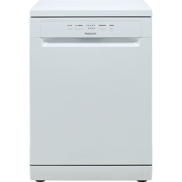 Hotpoint HFC2B19 Standard Dishwasher - White - A+ Rated - HFC2B19_WH - 1