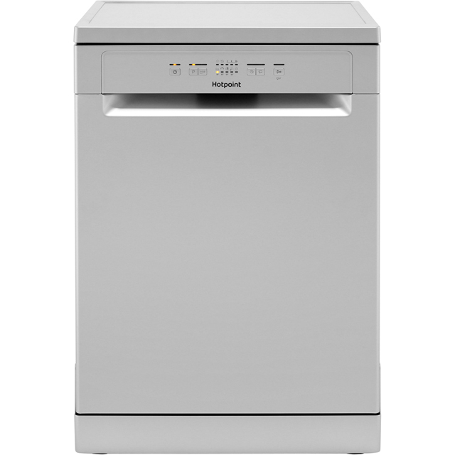 Hotpoint HFC2B19SV Standard Dishwasher - Silver - A+ Rated - HFC2B19SV_GH - 1