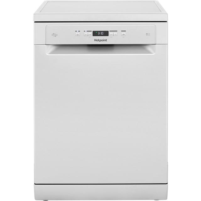 Hotpoint HFC3C26WSV Standard Dishwasher - Silver - A++ Rated Best Price, Cheapest Prices