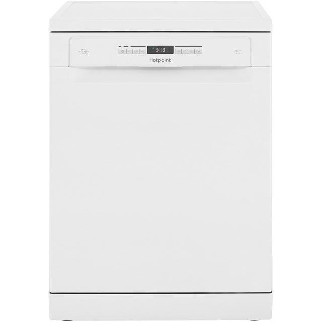 Hotpoint HFO3P23WL Standard Dishwasher - White - A++ Rated