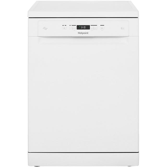 Hotpoint HFO3T222WG Standard Dishwasher - White - A++ Rated