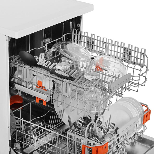 Hotpoint HFO3T222WGX Standard Dishwasher - Stainless Steel - HFO3T222WGX_SS - 4
