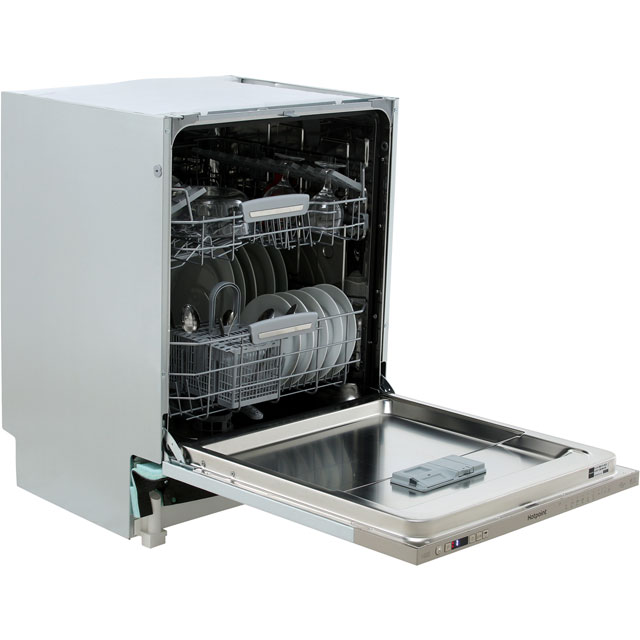 Hotpoint Ultima Fully Integrated Standard Dishwasher - Stainless Steel with Fixed Door Fixing Kit - A++ Rated