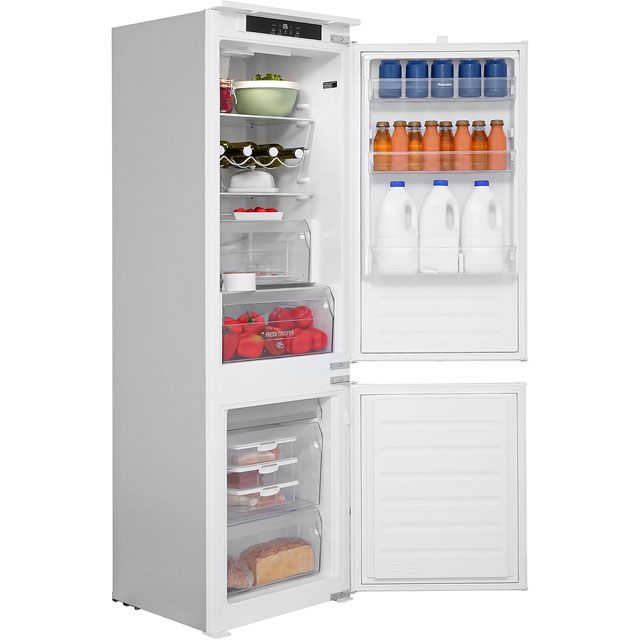 Hotpoint Day1 HM7030ECAA.1 Integrated 70/30 Fridge Freezer with Sliding Door Fixing Kit - White - A+ Rated - HM7030ECAA.1_WH - 1