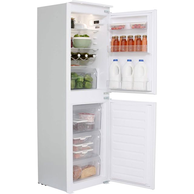 Hotpoint Day1 HMCB50501AA.1 Integrated 50/50 Fridge Freezer with Sliding Door Fixing Kit - White - A+ Rated - HMCB50501AA.1_WH - 1