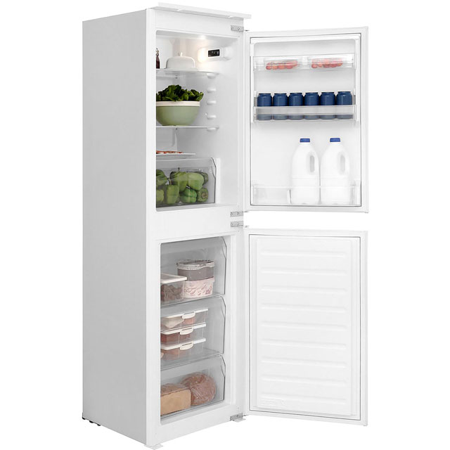 Hotpoint Day 1 Integrated 50/50 Fridge Freezer with Sliding Door Fixing Kit - White - A+ Rated