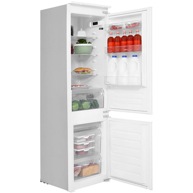Hotpoint HMCB7030AA Integrated 70/30 Fridge Freezer with Sliding Door Fixing Kit - White