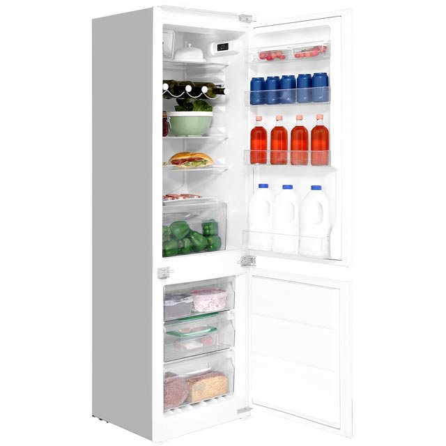 Hotpoint HMCB7030AADF Integrated 70/30 Frost Free Fridge Freezer with Sliding Door Fixing Kit - White