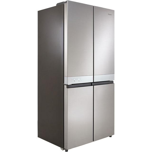 Hotpoint HQ9E1L American Fridge Freezer - Stainless Steel - HQ9E1L_SS - 1