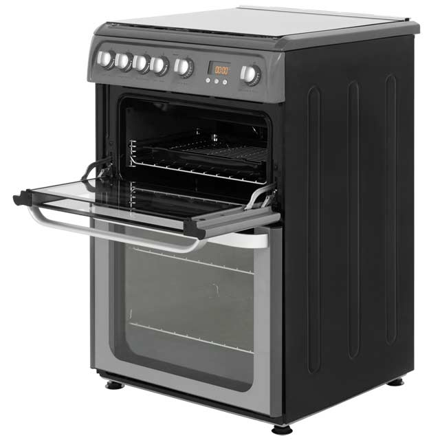 Hotpoint Ultima HUG61X Gas Cooker - Stainless Steel - HUG61X_SS - 2