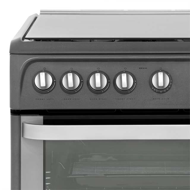 Hotpoint Ultima HUG61X Gas Cooker - Stainless Steel - HUG61X_SS - 4