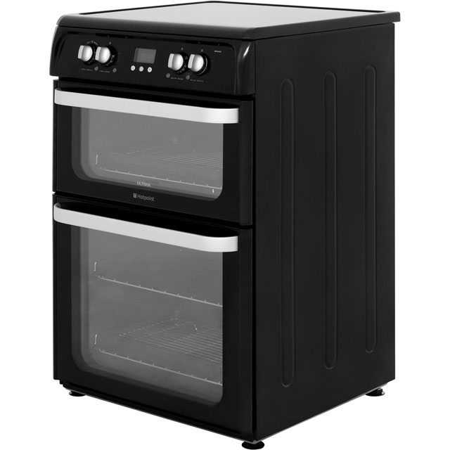 Hotpoint Ultima HUI614K Electric Cooker - Black - HUI614K_BK - 2