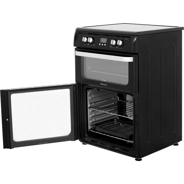 Hotpoint Ultima HUI614K Electric Cooker - Black - HUI614K_BK - 4