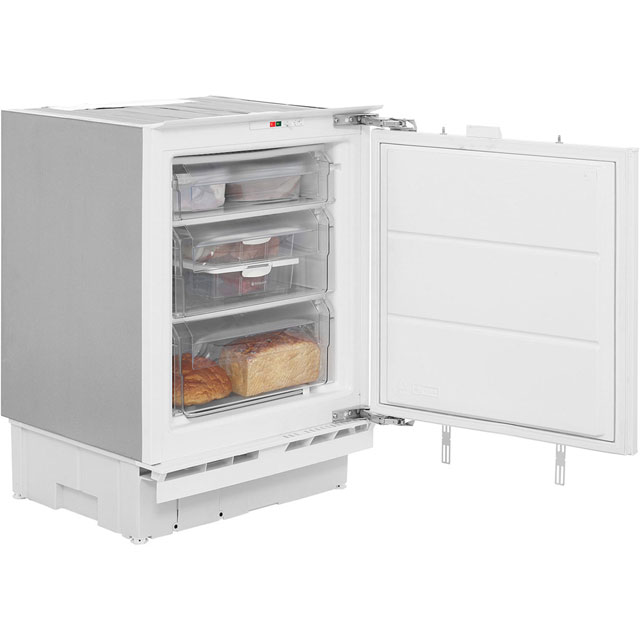 Hotpoint Aquarius HZA1 Integrated Under Counter Freezer with Fixed Door Fixing Kit - A+ Rated - HZA1_WH - 1