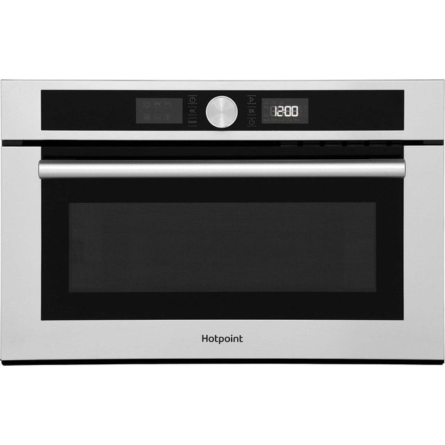 Hotpoint Class 4 MD454IXH Built In Microwave With Grill - Stainless Steel - MD454IXH_SS - 1