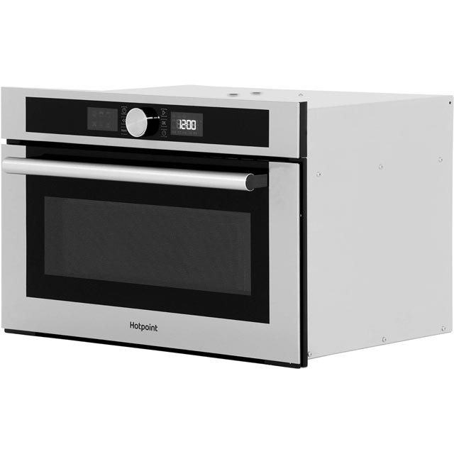 Hotpoint Class 4 MD454IXH Built In Microwave - Stainless Steel - MD454IXH_SS - 3