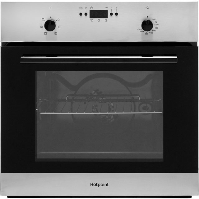 Hotpoint MMY50IX Built In Electric Single Oven - Stainless Steel - MMY50IX_SS - 1