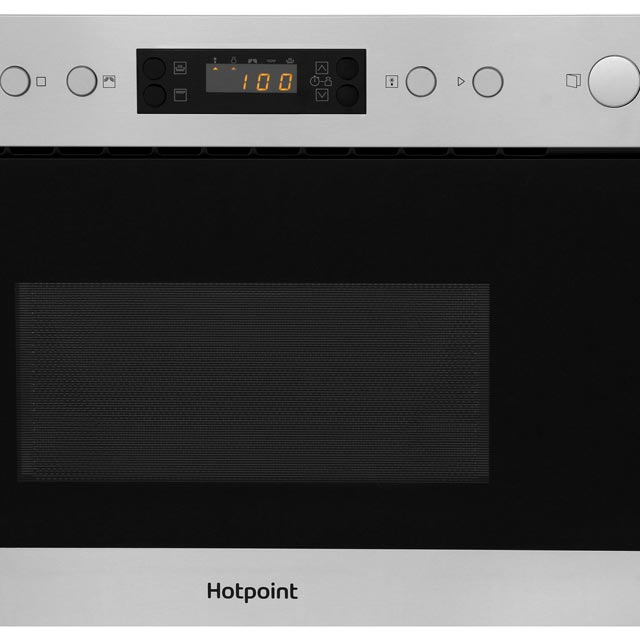 Hotpoint MN314IXH Built In Microwave - Stainless Steel - MN314IXH_SS - 2