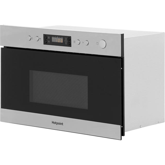 Hotpoint MN314IXH Built In Microwave - Stainless Steel - MN314IXH_SS - 3