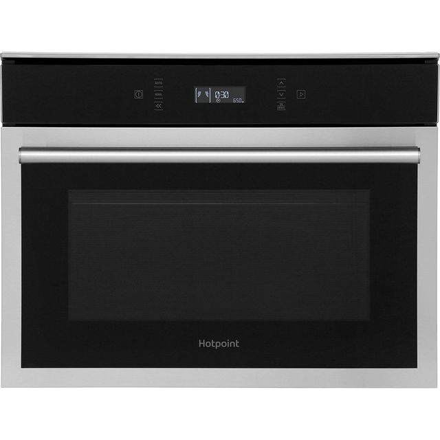 Hotpoint Class 6 MP676IXH Built In Microwave With Grill - Stainless Steel - MP676IXH_SS - 1