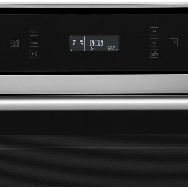Hotpoint Class 6 MP676IXH Built In Combination Microwave Oven - Stainless Steel - MP676IXH_SS - 2