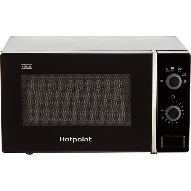 Hotpoint COOK 20 MWH 101 B 20 Litre Microwave - Black