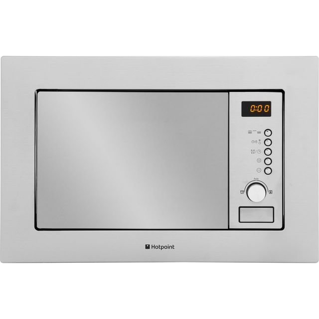 Hotpoint MWH122.1X Built In Microwave With Grill - Stainless Steel - MWH122.1X_SS - 1