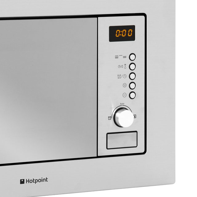 Hotpoint MWH122.1X Built In Microwave - Stainless Steel - MWH122.1X_SS - 5