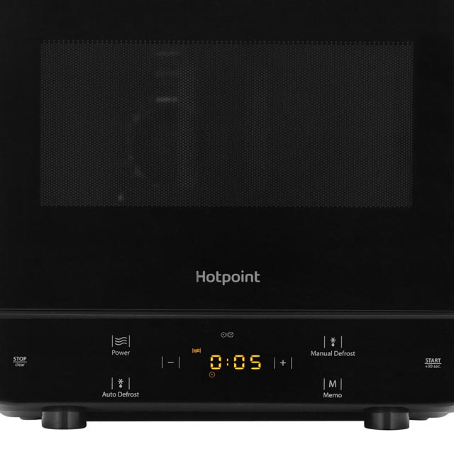 Hotpoint Curve MWH1331B 13 Litre Microwave - Black - MWH1331B_BK - 3