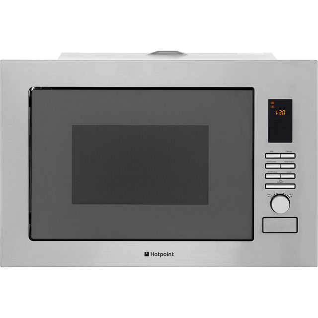 Hotpoint MWH222.1X Built In Microwave With Grill - Stainless Steel