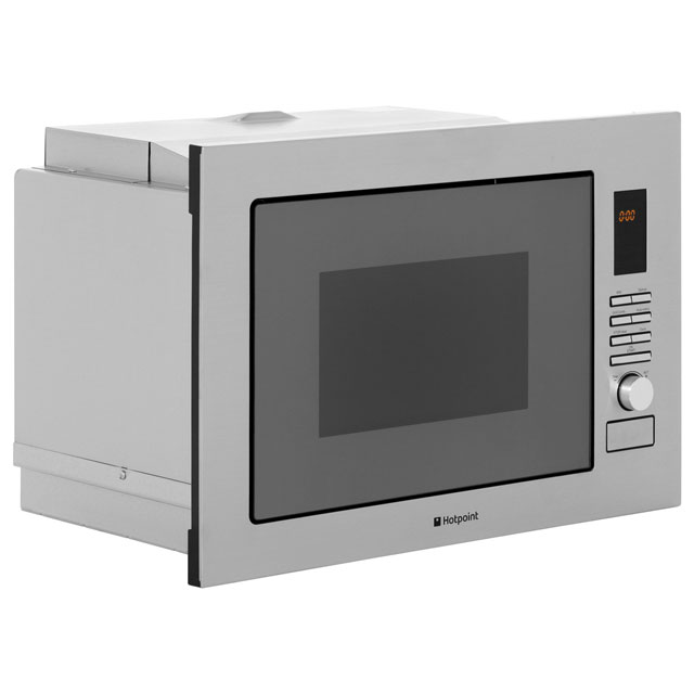 Hotpoint Newstyle MWH222.1X Built In Microwave With Grill - Stainless Steel - MWH222.1X_SS - 4