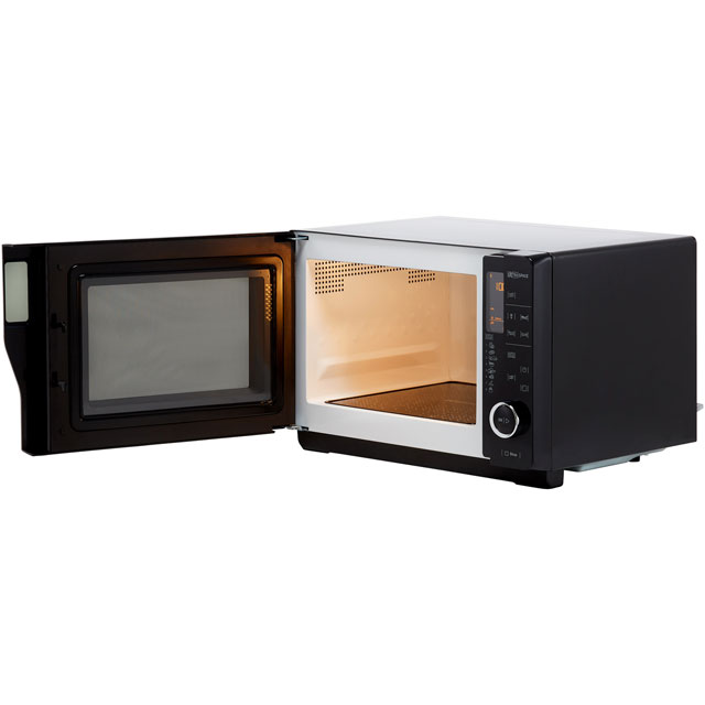 Hotpoint Ultimate Collection MWH2621MB 25 Litre Microwave - Black - MWH2621MB_BK - 2