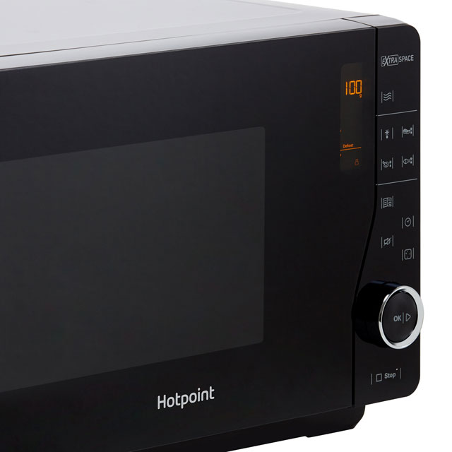 Hotpoint Ultimate Collection MWH2621MB 25 Litre Microwave - Black - MWH2621MB_BK - 4