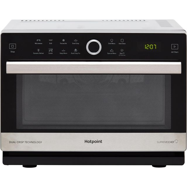 Hotpoint SUPREMECHEF MWH338SX Microwave - Stainless Steel - MWH338SX_SS - 1